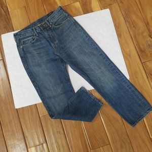 Vince High Rise Ankle Jeans